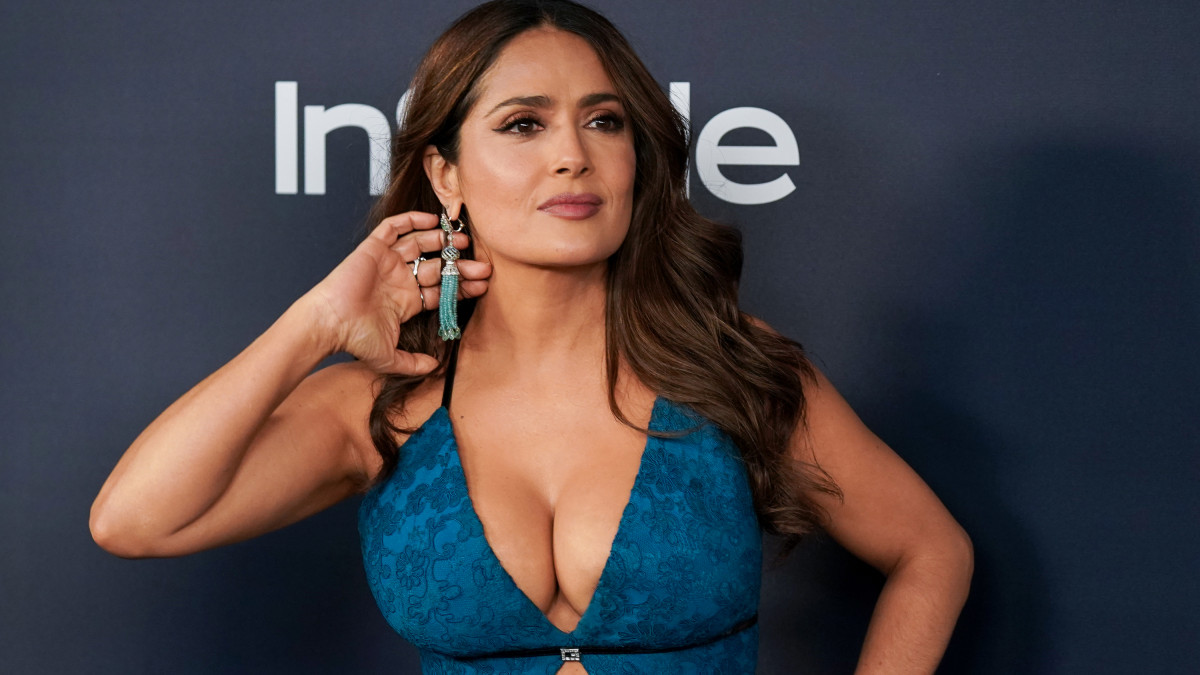 BEVERLY HILLS, CALIFORNIA - JANUARY 05:  Salma Hayek attends the 21st Annual Warner Bros. And InStyle Golden Globe After Party at The Beverly Hilton Hotel on January 05, 2020 in Beverly Hills, California. (Photo by Jemal Countess/FilmMagic)