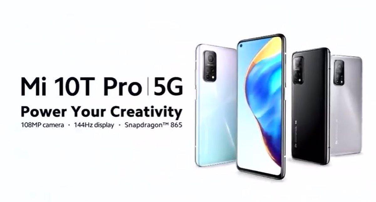 30/09/2020 Xiaomi Mi 10T Pro POLITICA  XIAOMI/YOUTUBE